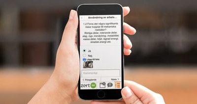 Zert RM-appen! – Extrem effektivisering av ditt riskbedömningsarbete!