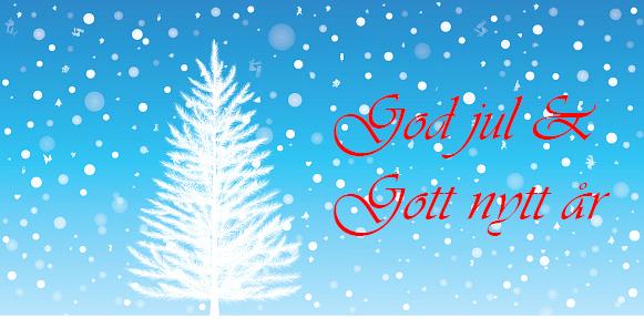God jul och Gott nytt år önskar vi från Zert!