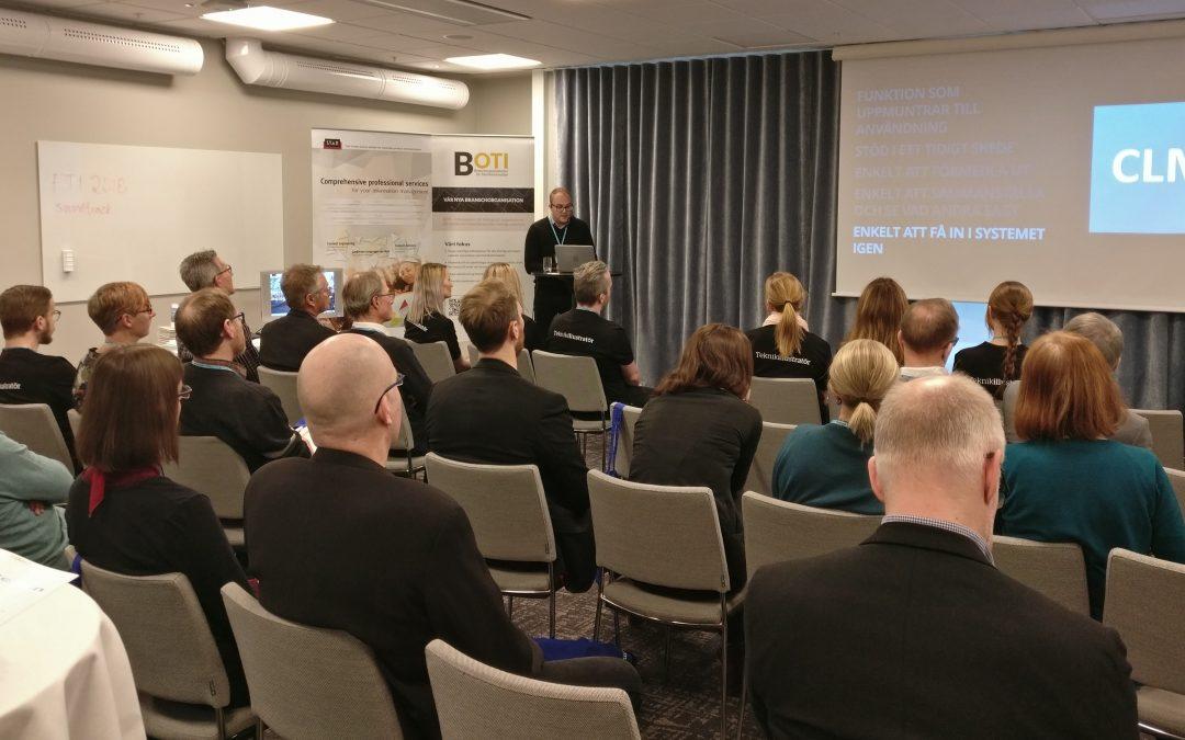Zerts deltagande i årets FTI-konferens