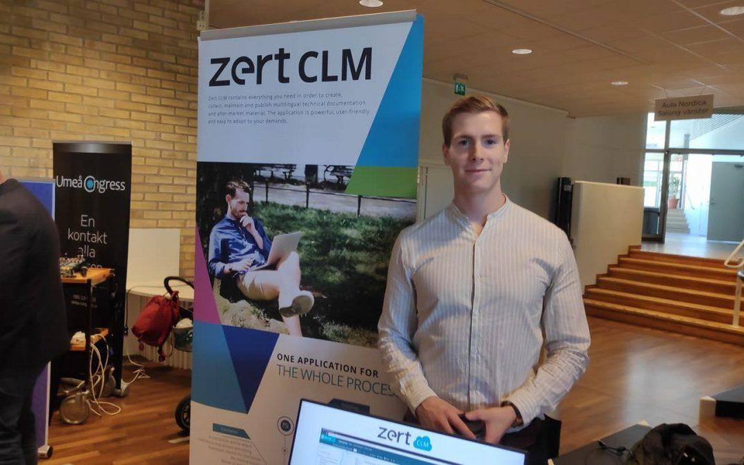 Zert deltar på karriärdagen IT 2019