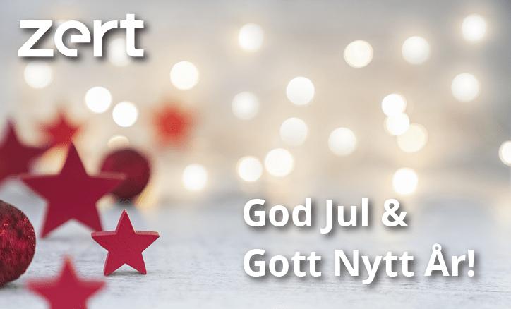 Julhälsning från Zert