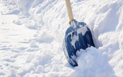 Snöskottning av tak – ett riskfyllt arbete