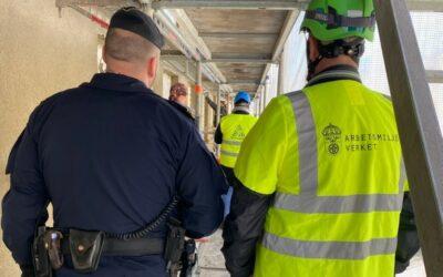 Stora problem med farlig arbetsmiljö och olaglig arbetskraft på byggen