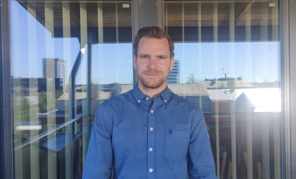 Ny medarbetare på Zert - Adrian Bergström